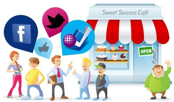 شبکه های اجتماعی برای کسب و کارها