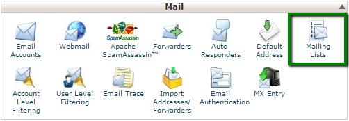 Maillinglist