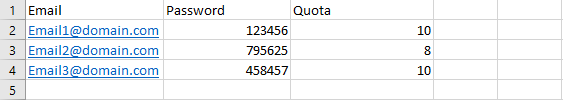 address importer 03 - افزودن لیستی ایمیل آدرس ها در سی پنل (Import)